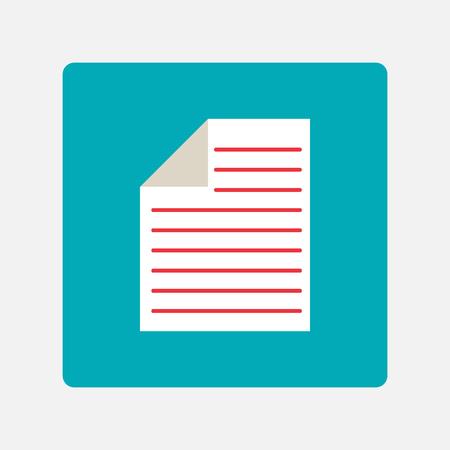 Dokumenten-Symbol Standard-Bild - 26178800