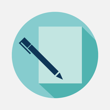 pen and paper Vector