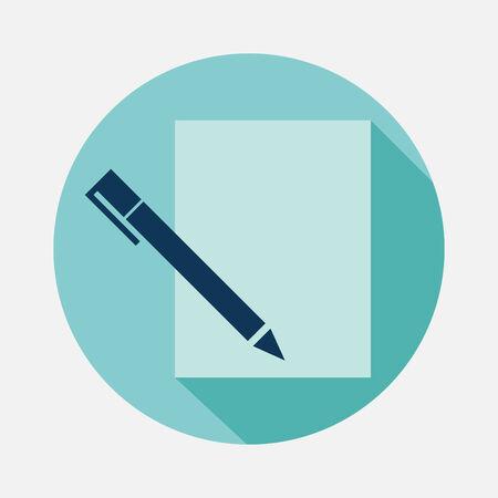 diagonal diary education: pen and paper