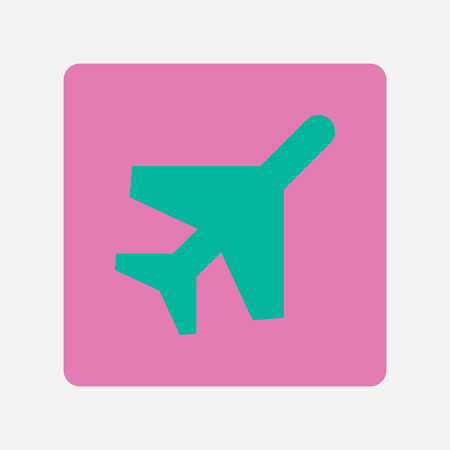 plane icon Illustration