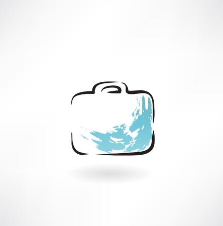 suitcase  grunge icon