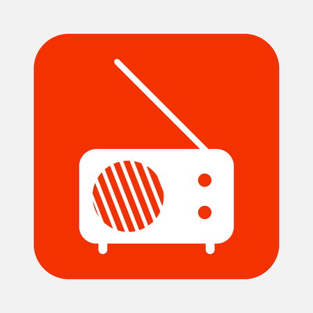 radio frequency: radio icon