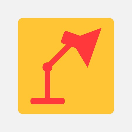 adjustable: Table lamp icon