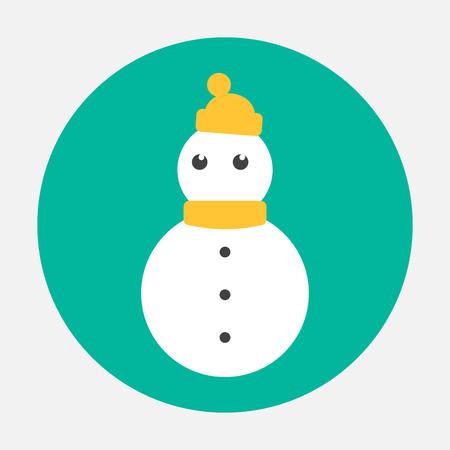 snowman icon Banco de Imagens - 26179353