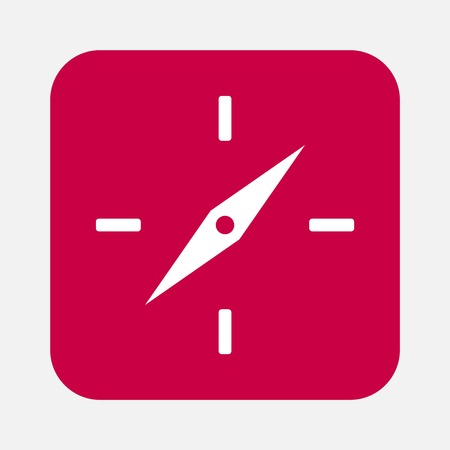 hands  hour: clock face icon Illustration