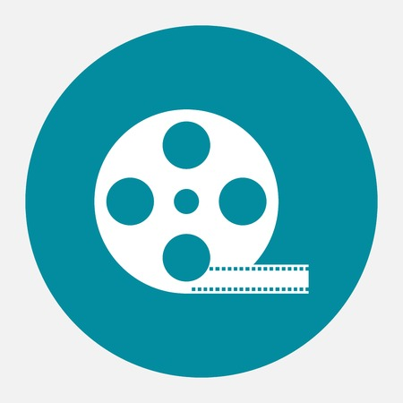 film industry: Reel of film icon