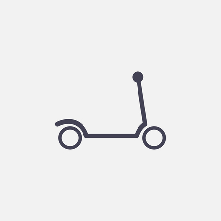 scooter icon 向量圖像