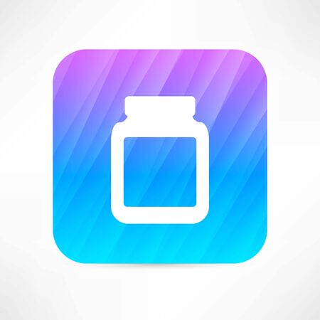 medicine jar with pills