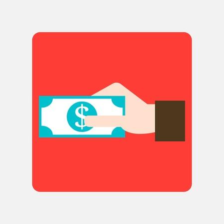 giving money icon