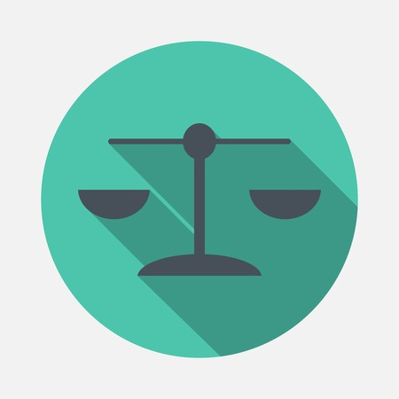 weighing scale: Libra icon