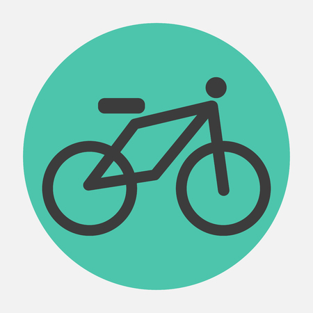 bicycle icon Stock Vector - 26180142