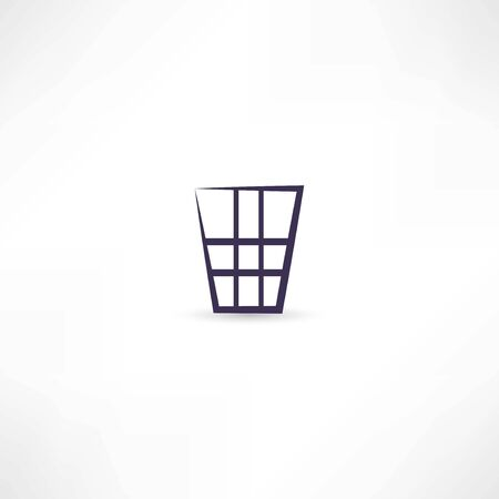 vuilnisbak pictogram