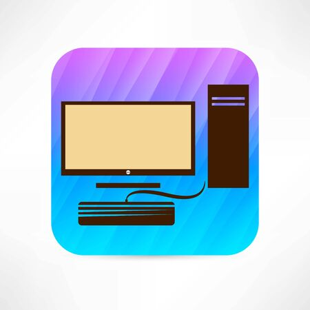 input device: personal computer icon