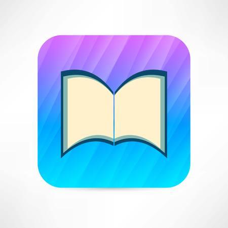 open book icon Иллюстрация