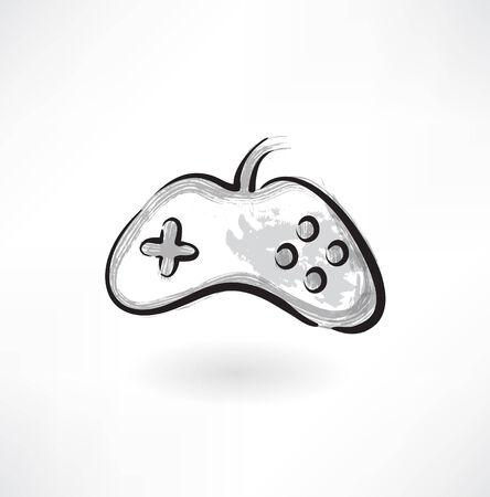 gamepad grunge icon