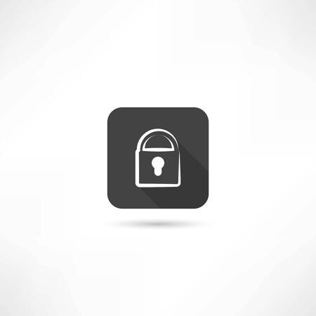private access: lock icon
