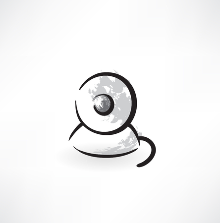 web cam grunge icon