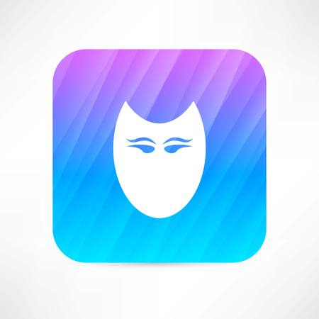 theatrical performance: mask icon