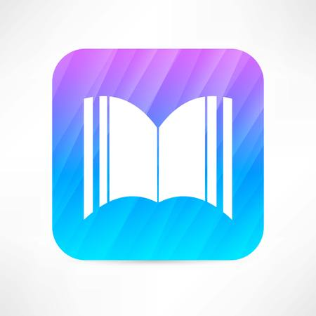 mag: open book icon Illustration