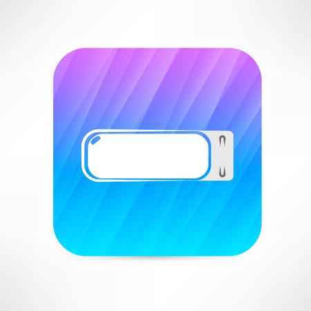 storage device: usb flash drive icon