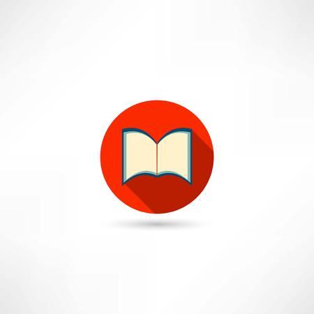 open book icon Illustration