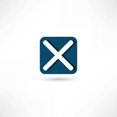 Borrar icono Foto de archivo - 26617513