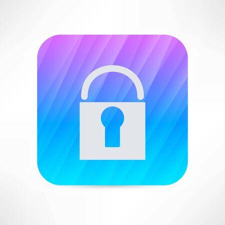Lock icon Illusztráció
