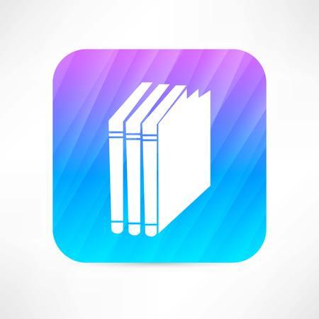 books icon Illusztráció