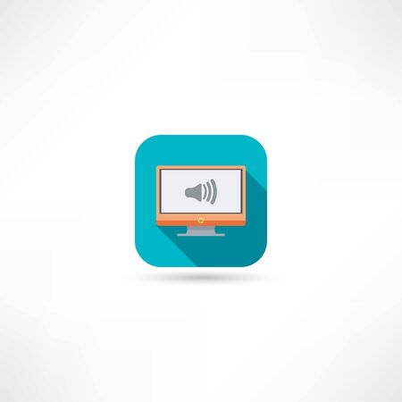volume on the tv icon