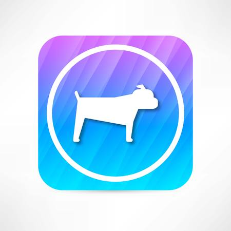 doggy position: dog icon