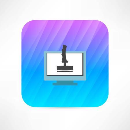 joystick icon Illusztráció