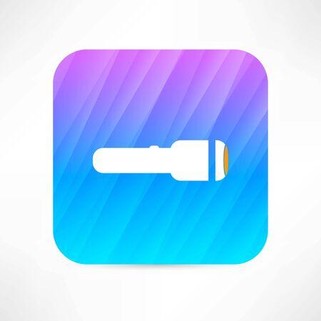 flashlight icon Vectores