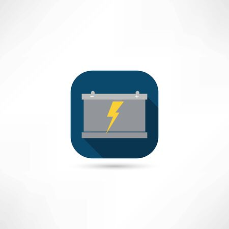 battery icon Stock Illustratie