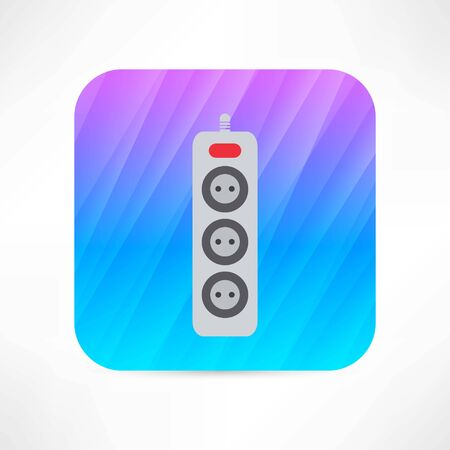 extension: extension cord icon