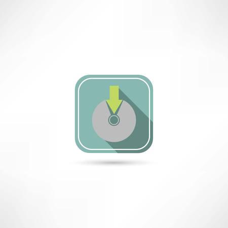 write to disk icon