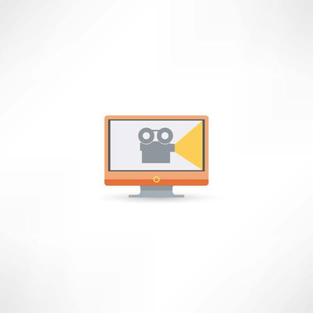 movie projector: movie icon