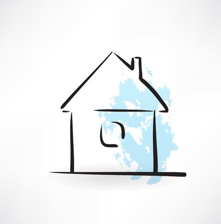 real world: house grunge icon