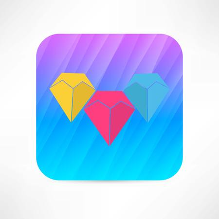 gems icon Vector