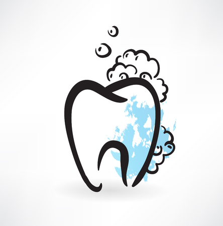 carious: tooth grunge icon