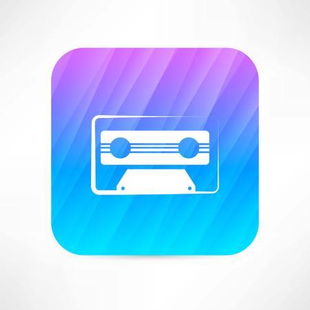 audio tape icon