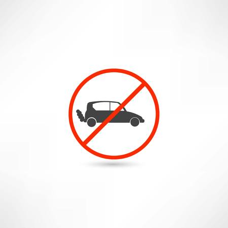 obey: no cars icon