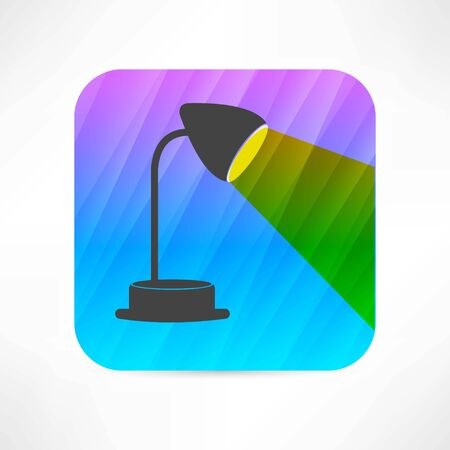 table lamp icon Stock Vector - 27531391