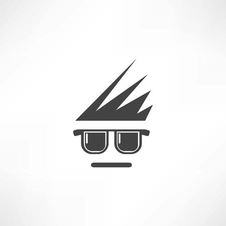eyeglassses icon Vector