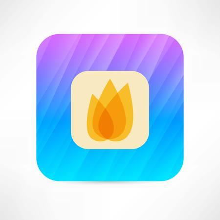 gas flame: flame icon