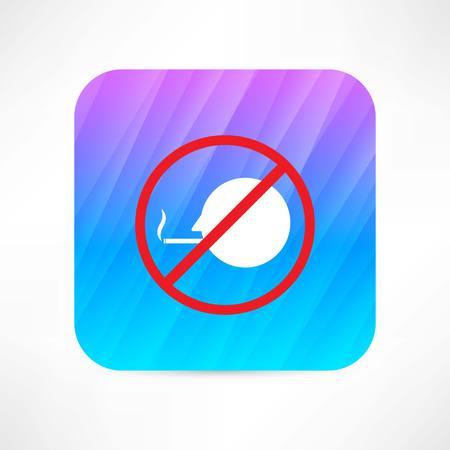 no smoking icon Illusztráció