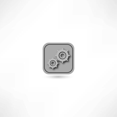 robotic transmission: gear icon