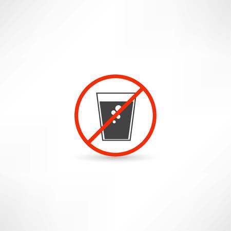 no soda water icon