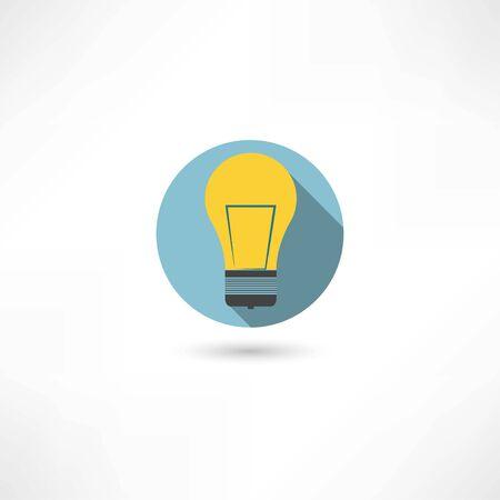 energysaving: light bulb icon