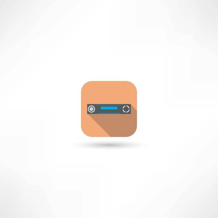 dvd player: dvd player icon