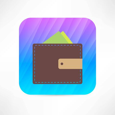 pouch: wallet icon
